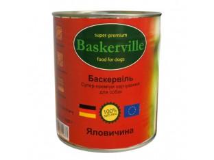 Baskerville (Баскервиль) консервы для собак 400гр говядина