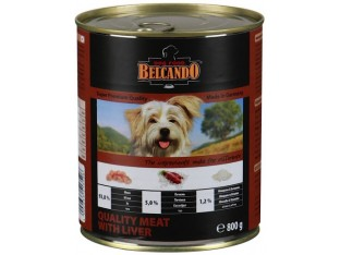 Belcando (Белькандо) консервы для собак 400гр мясо с печенью