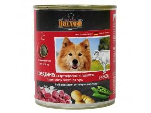 Belcando (Белькандо) консервы для собак 800гр говядина, картоф, горош