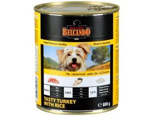 Belcando (Белькандо) консервы для собак 400гр индейка с рисом