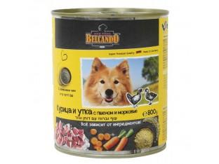 Belcando (Белькандо) консервы для собак 800гр курица,утка,пшено,морковь