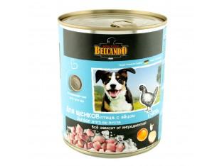 Belcando (Белькандо) консервы для собак 800гр для щенков с курицей