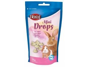 """Лакомство для грызунов """"Mini Drops"""" (йогурт) 75гр Trixie 60332"""