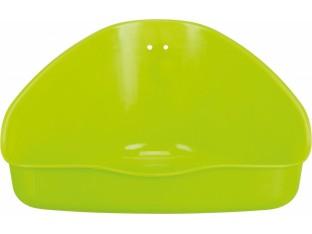 Туалет угловой для грызунов 36x21x30/30см Trixie 62551