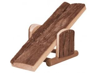 Деревянная качель для грызунов 22x7x8см Trixie 6085