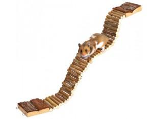 Деревянная лесенка для грызунов 7x55см Trixie 6221