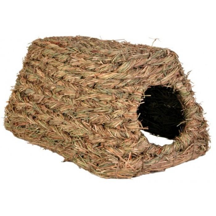 Домик для грызунов джут 28 см Trixie 6118