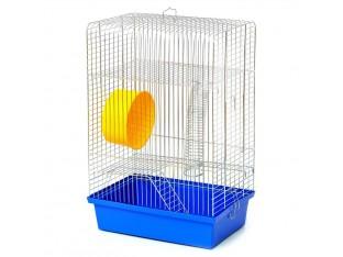 """Клетка для грызунов """"Хомяк-4"""" К017 33x23x48см цинк"""