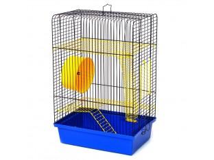 """Клетка для грызунов """"Хомяк-4"""" К017 33x23x48см окраш."""