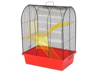 """Клетка для грызунов """"Бунгало 3"""" К 010 33х23х43см. окрашенная"""