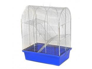"Клетка для грызунов ""Бунгало 3"" Кц 010 33х23х43см. оцинкованная"
