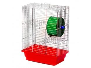 "Клетка для грызунов ""Дом"" Кц 012 28х18х29см. оцинкованная"