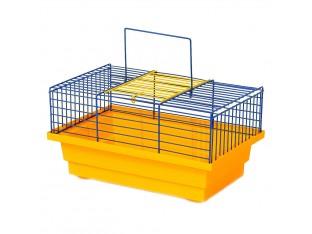 "Клетка для грызунов ""Грызун"" К 001 28х18х15см. окрашенная"