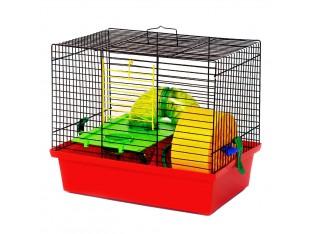 "Клетка для грызунов ""Микки люкс"" КЛ 011 33х23х28см. окрашенная"