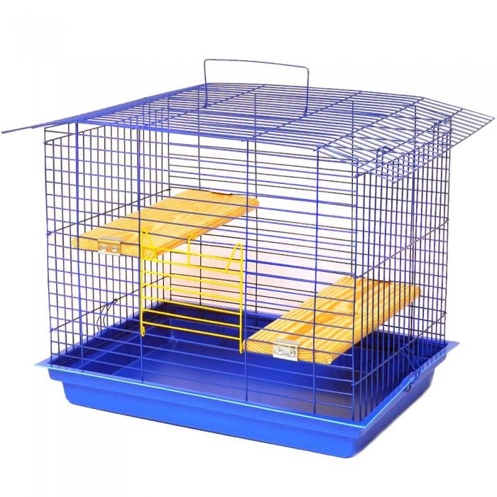 """Клетка для грызунов """"Шиншилла 60"""" К 028 56х40х47см. окрашенная"""