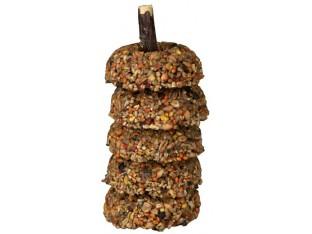 Кольца на ветке для грызунов (фрукты овощи) 5шт/100гр Trixie 60321