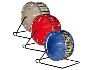 Кормушка-колесо для грызунов металл/пластик 13см Trixie 61071