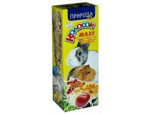 Природа Колосок Maxi фруктовый для грызунов 210гр.