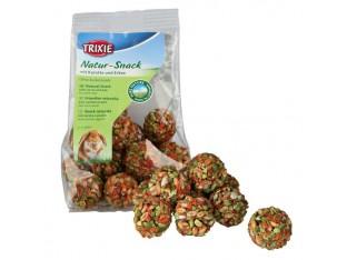 Шарики для грызунов (морковь горошек) 24-26шт/140гр Trixie 60311