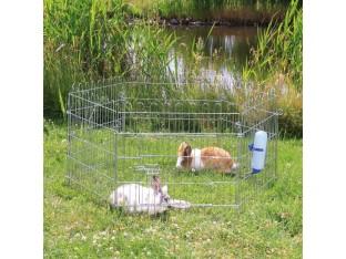 Вольер для кролей металл 6 сторон 63x60см Trixie 6250