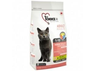 1st Choice (Фест Чойс) Indoor Vitality с курицей сухой корм для кошек 0,907 кг