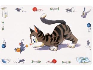 Коврик под миску для кошек 44x28см Trixie 24544