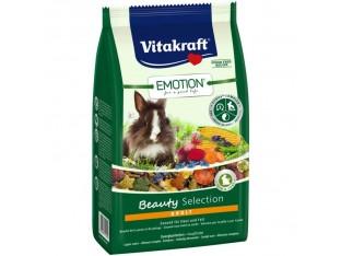 Vitakraft Emotion Beauty корм супер-премиум класса для кроликов 1,5кг