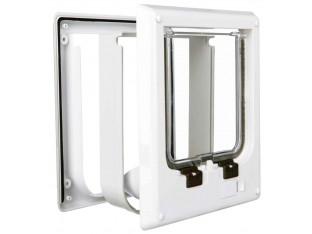 Дверца электромагнитная для кота белая Trixie 3869