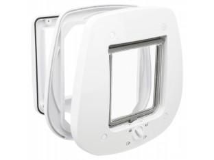 Дверца для стеклянных дверей белая Trixie 44221