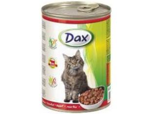 DAX говядина консервы для кошек 415 гр.