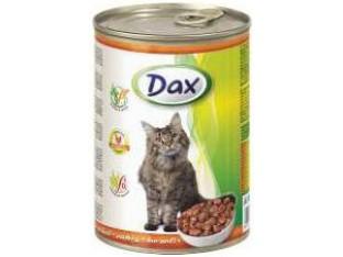 DAX птица консервы для кошек 415 гр