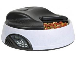Автоматическая кормушка для кошек с голосом Trixie 24382