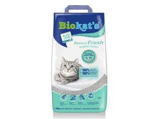 Бентонитовый наполнитель Biokats Bianco Fresh 10кг