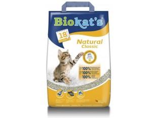 Бентонитовый наполнитель Biokats Natural Classic 10 кг