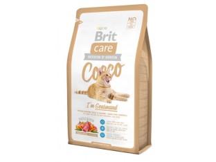 Brit Care Cocco/Gourmand с уткой и лососем для привередливых кошек 7 кг