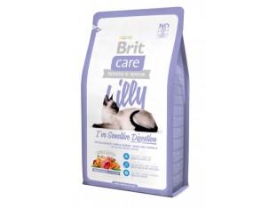 Brit Care Lilly/Sensitive для кошек с чувствительным пищеварением 2 кг