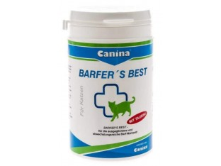 Canina Barfer's Best витаминная добавка для кошек на натуральном кормлении 180гр
