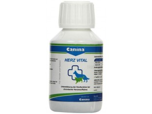 Canina Herz Vital (Канина Херц Виталь) витамины для сердца кошек 100 мл