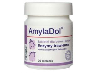 Dolfos AmylaDol ферменты для пищеварения кошек 30 тб