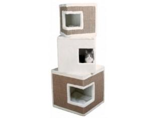 Домик-башня для кошек Lilo 46x46x123см Trixie 43377