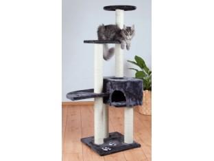 Домик-когтеточка для кошек Alicante 45x45x142см Trixie 43867 антрацит