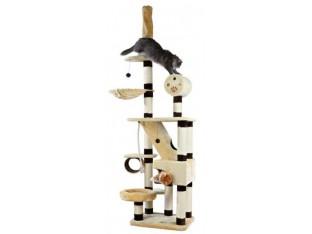 Домик-когтеточка для кошек Belorado 70x60x246-280см Trixie 44681