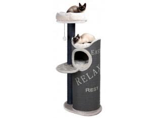 Домик-когтеточка для кошек Juana 57x46x134см Trixie 44425