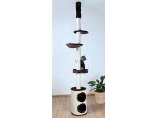 Домик-когтеточка для кошек Linea 38x225-265см Trixie 43670