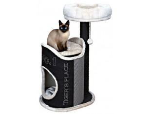 Домик-когтеточка для кошек Susana 54x44x90см Trixie 44415