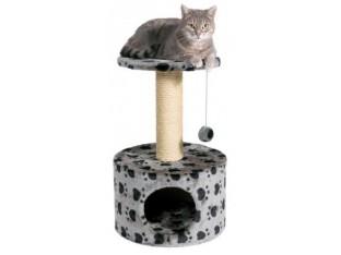 Домик-когтеточка для кошек Toledo 39x61см Trixie 43705 серая