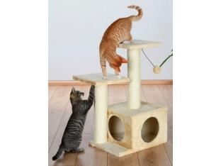 Домик-когтеточка для кошек Valencia 44x33x71см Trixie 43771