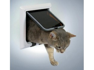 Дверца для кота Trixie 38621 белая