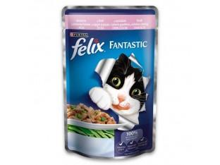 Felix с форелью и зеленой фасолью в желе