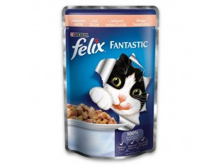 Felix с лососем в желе